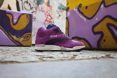 "Reebok Court Victory Pump ""Purple Rain"""