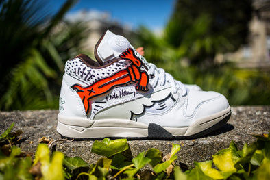 Reebok X Keith Haring Court Victory Pump