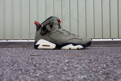 "Travis Scott X Air Jordan 6 Rétro ""Cactus Jack"""