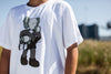 "Kaws Uniqlo Tee ""Clean Slate"" White"