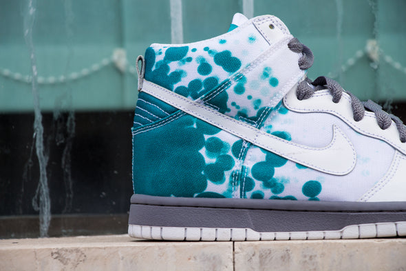 "Nike Dunk High ""WHITE RADIANT EMERALD"""