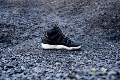 Air Jordan 11 Retro Heiress Black Stingray GS