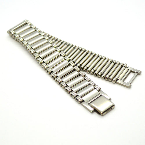 (4-4009-h11) Stainless Steel Classic Watch Link Bracelet, 8-1/4
