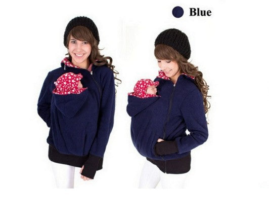 9652e2e70 Humor Bear Long Sleeve Maternity Warm Clothing Mother Autumn Winter ...