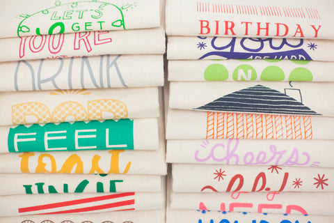 stack of booze bags by exit343design
