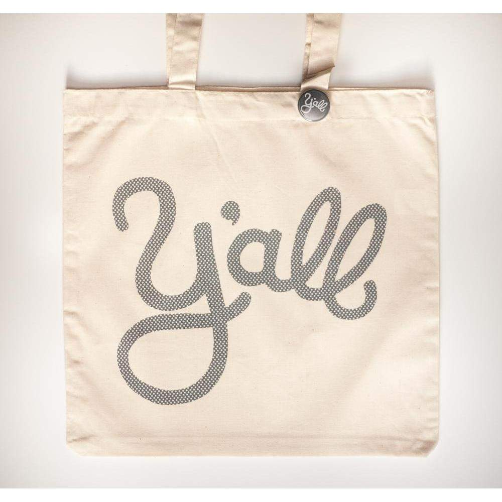 y'all tote bag by exit343design, printed in the USA