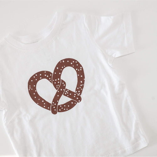 Philly pretzel toddler tshirt by exit343design