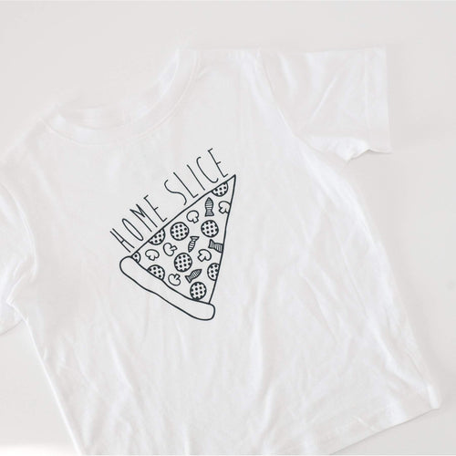 home slice pizza toddler tee by exit343design