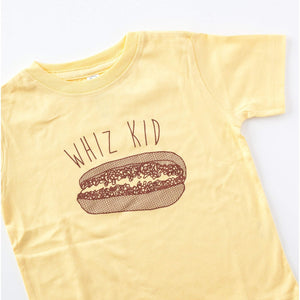 philly cheesesteak toddler tee that says whiz kid, by exit343design