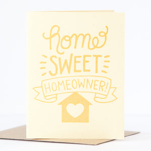 home sweet homeowner housewarming greeting card by exit343design