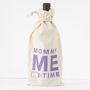 mommy me time wine gift bag for a new mom by exit343design