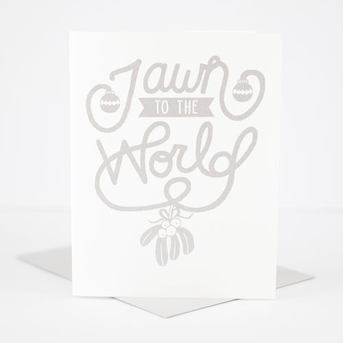 jawn to the world funny holiday card