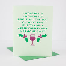 jingle bells parody Christmas card by exit343design
