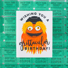 Philadelphia birthday card featuring Gritty by exit343design