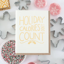 holiday calories don't count funny holiday card by exit343design