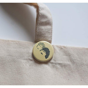 hall and oates pinback button