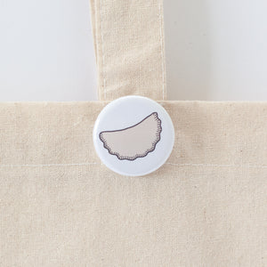 pierogi button by exit343design
