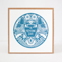 The Keystone State Pennsylvania art print by exit343design