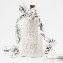 wedding gift bag, wine gift bag, drink or two before the i do, bridal shower gift