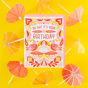 funny birthday card by exit343design