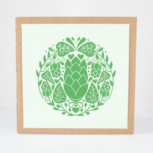 beer hop art print for craft beer lover artwork
