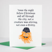 Philadelphia holiday card with Gritty by exit343design