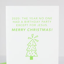funny 2020 Merry Christmas card by exit343design