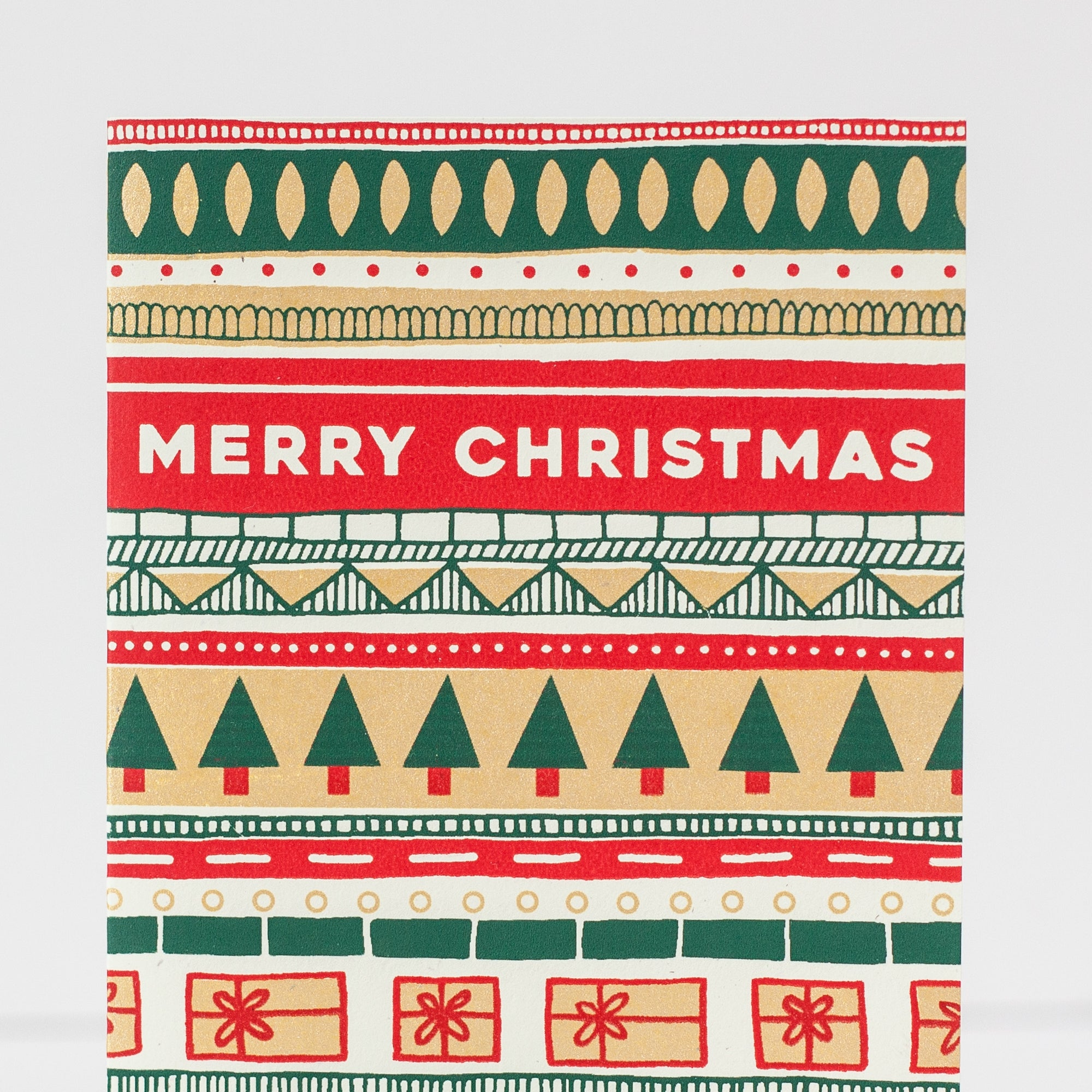 merry christmas card, blank greeting card, ugly christmas sweater ...