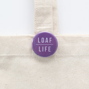 cat loaf pinback button