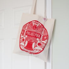 Philadelphia tote bag design by exit343design