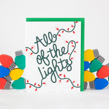 all of the lights kanye west christmas card by exit343design