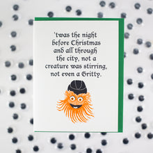 Gritty Christmas card by exit343design