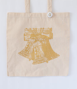philadelphia wedding tote bag for hotel or wedding favor