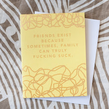 funny friendship card by exit343design