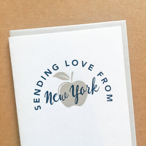 simple New York City greeting card by exit343design