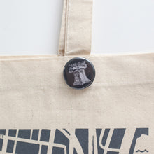 Liberty Bell pinback button