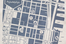 detail image of Old City, Philadelphia map
