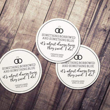 CUSTOM wedding coaster about damn time