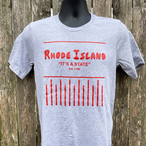 Rhode Island is a state souvenir tshirt by exit343design