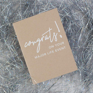 cheeky congratulations card, funny all-occasion congratulations card by exit343design