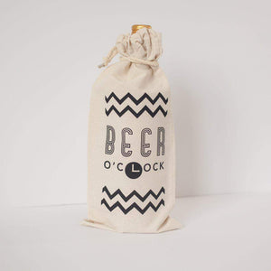gift bag for a large bottle of beer from exit343design