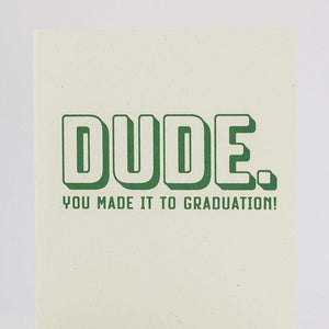 funny graduation card for guy by exit343design
