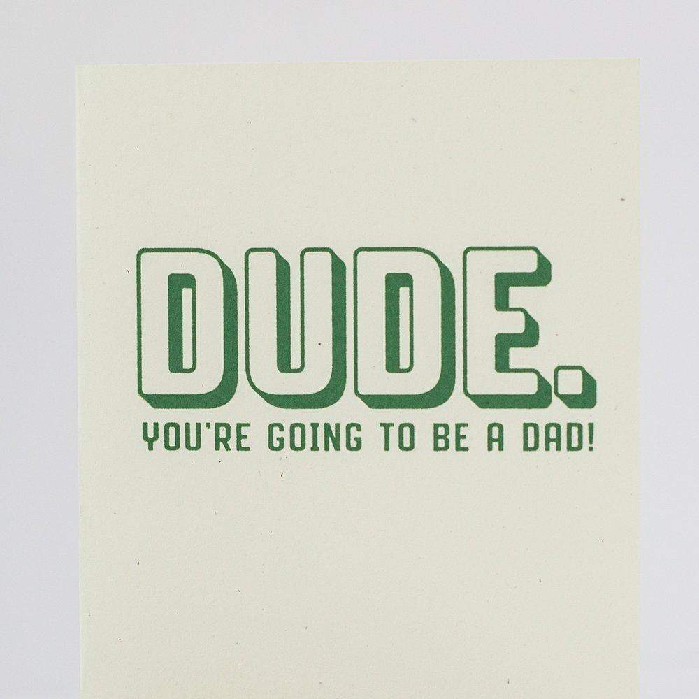 funny card for new dad by exit343design