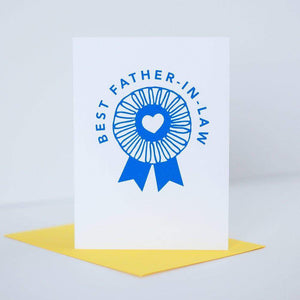 best father in law father's day card for second dad by exit343design