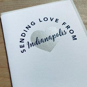 greeting card from Indianapolis