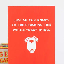 card for new dad or for Father's Day