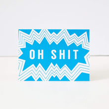 oh shit funny congratulations card, funny friendship card by exit343design