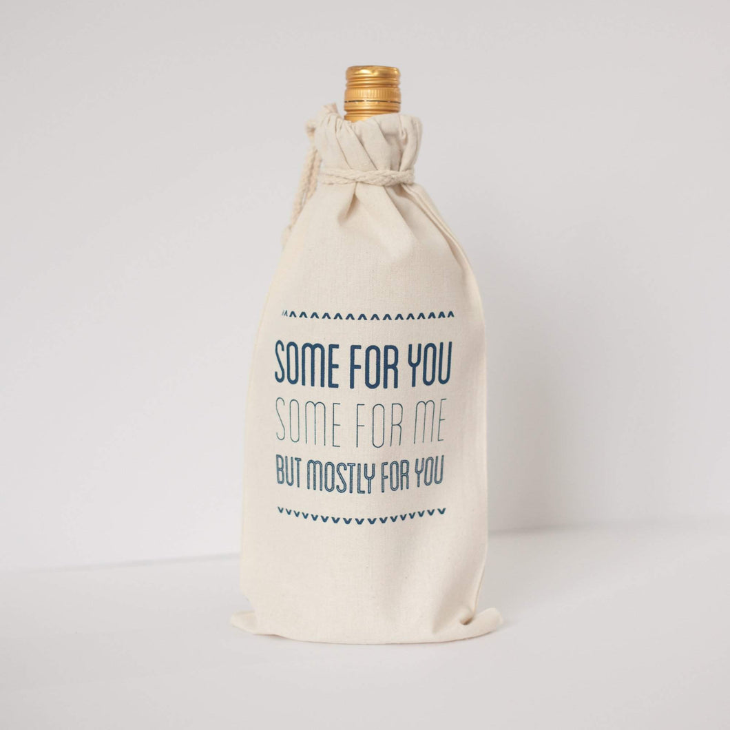 funny wine gift bag by exit343design