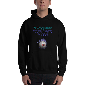Cataclysm Dark Days Ahead Flaming Eye W/Logo Hoodie