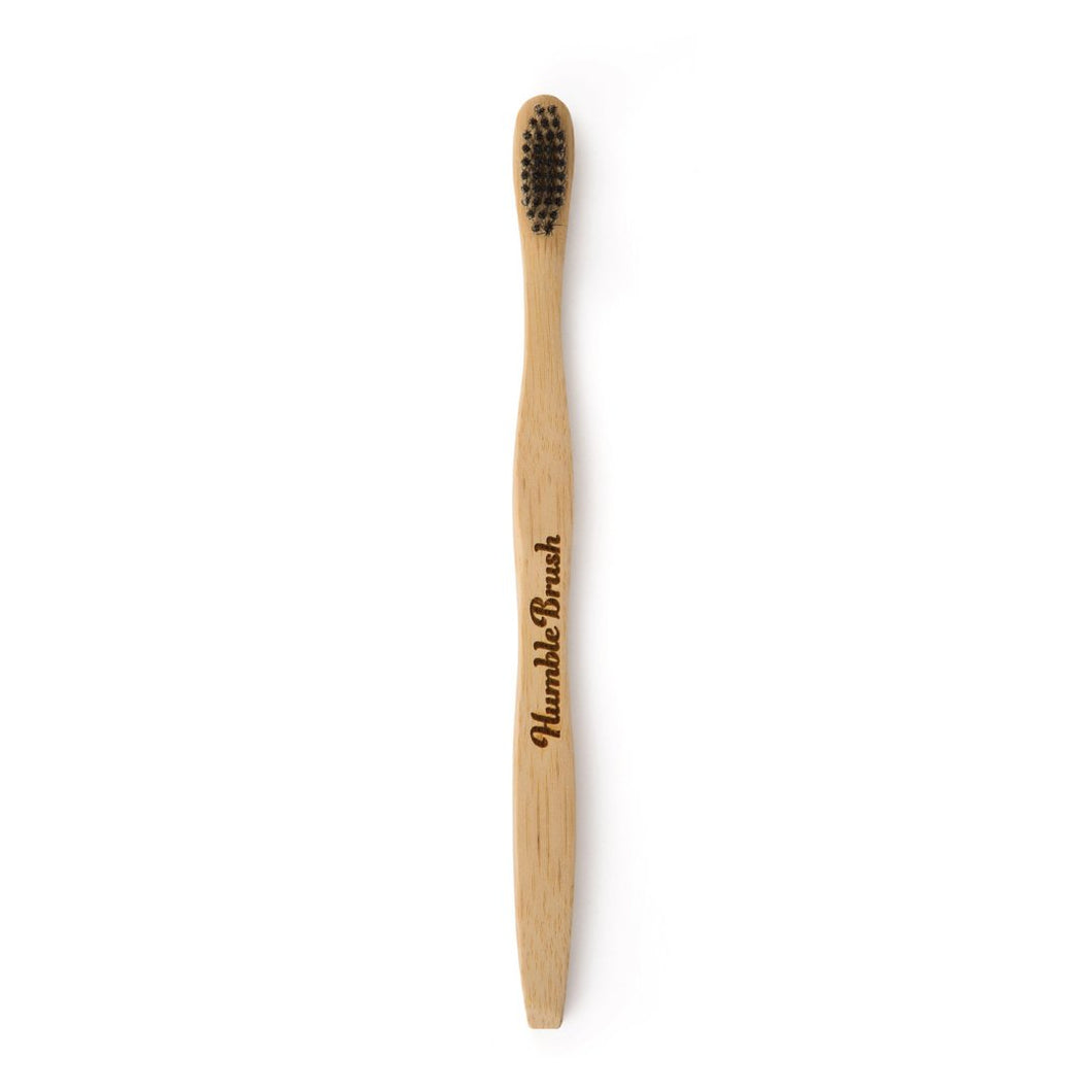 The Humble Co Adult Bamboo Black Toothbrush Singapore